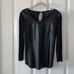 Cynthia Rowley 100% Leather front, keyhole back
